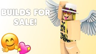 ROBLOX BUILDS FOR SALE!!
