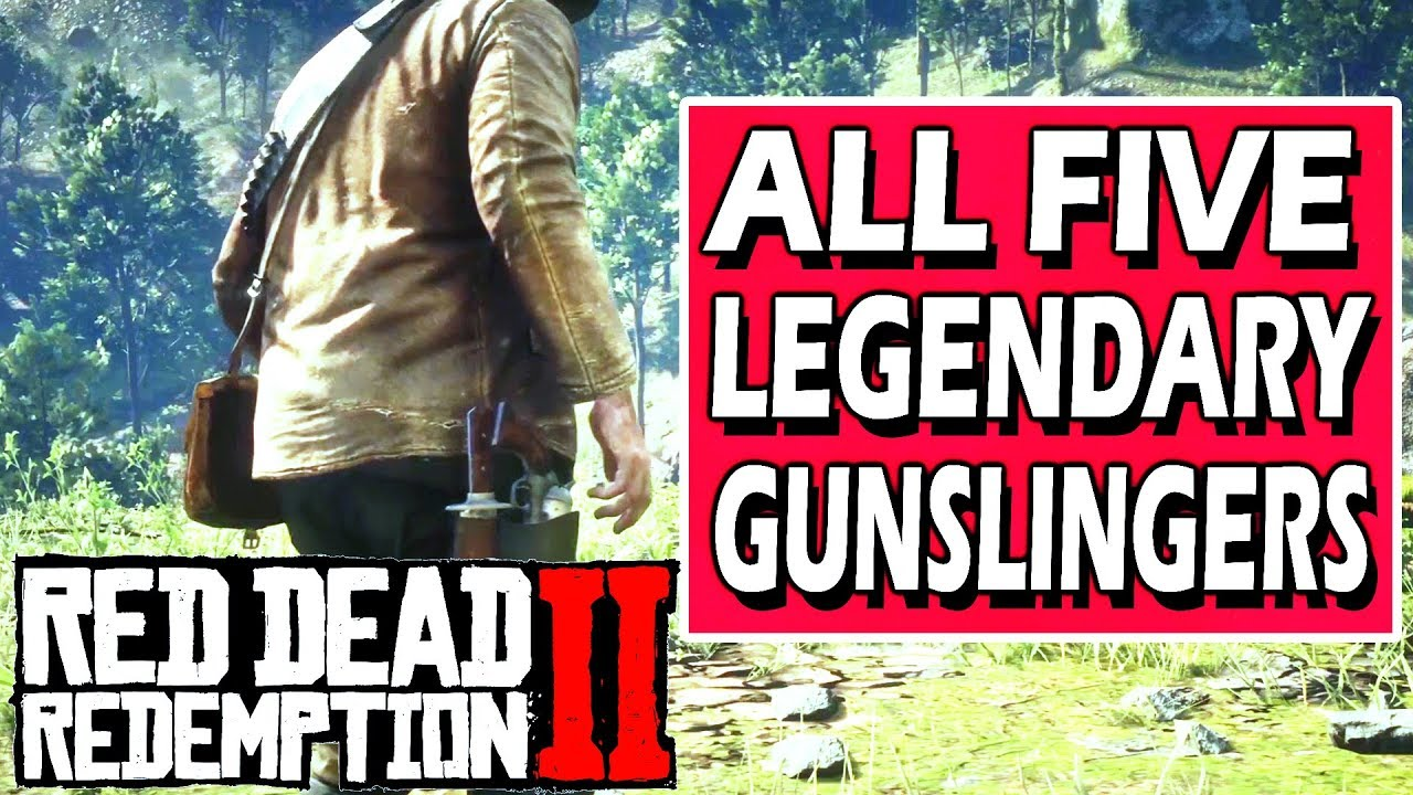 Red Dead Redemption 2 All 5 Legendary Gunslingers Missions Duels