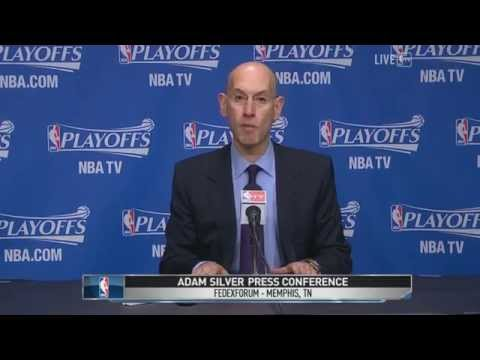 Adam Silver press conference on Donald Sterling