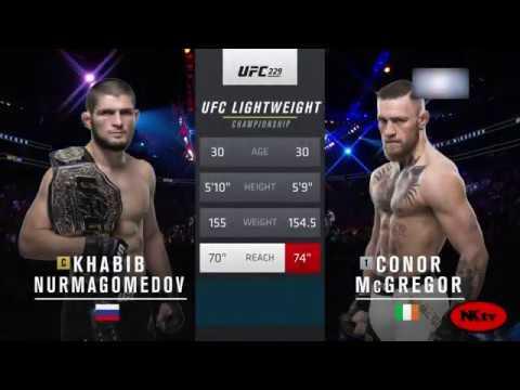 Khabib Nurmagomedov vs Conor Mcgregor super jang