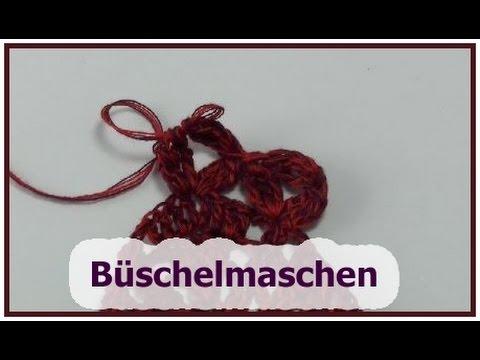 Büschelmaschen Auch Waagrechte Häkeln Veronika Hug Youtube