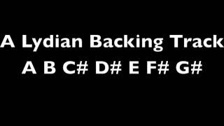 A Lydian Backing Track 120 BPM