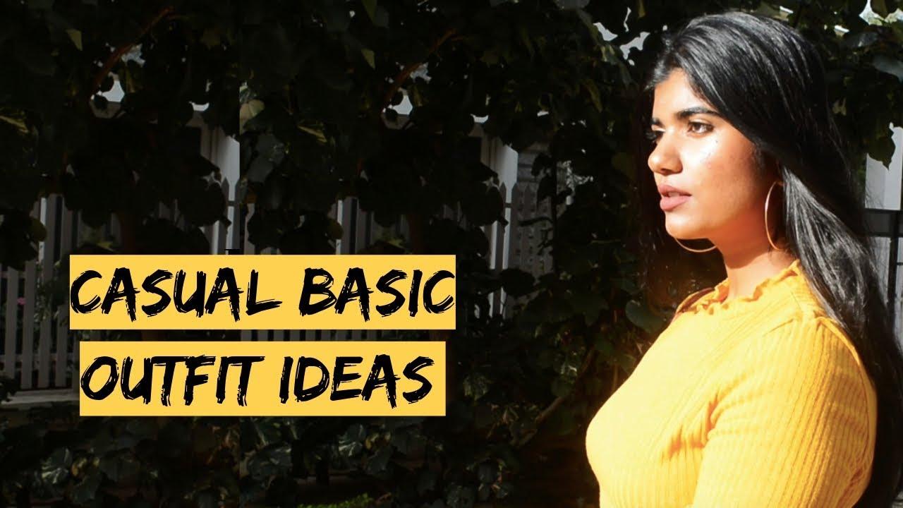 [VIDEO] - CASUAL BASIC OUTFIT IDEAS. |Riya Thomas| 2