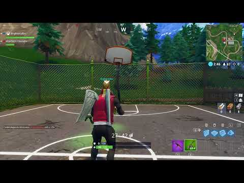 Score A 3 Point Shot At Different Basketball Courts - Fortnite Week 2 Challenge