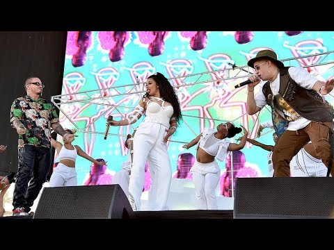 Cardi B, J Balvin & Bad Bunny - I Like it Live At Coachella 2018 / Weekend 2