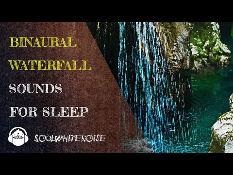 Waterfall Binaural Sound To Fall Asleep Easier