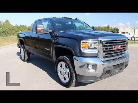 2018 GMC Sierra 2500HD Double Cab SLE Z71 4x4 6.0L V8 at Wilson County Motors Lebanon, TN