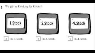 German exam A1 Listening part 1  texts from 0 to 2 (Start deutsch)/Deutsch lernen