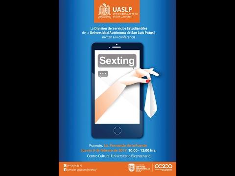 Conferencia: Sexting, Lic. Fernando de la Fuente