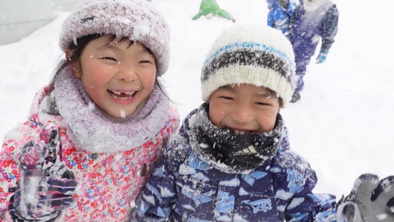 【ドカ雪まつりオンライン】栗沢小学校 制作風景レポート