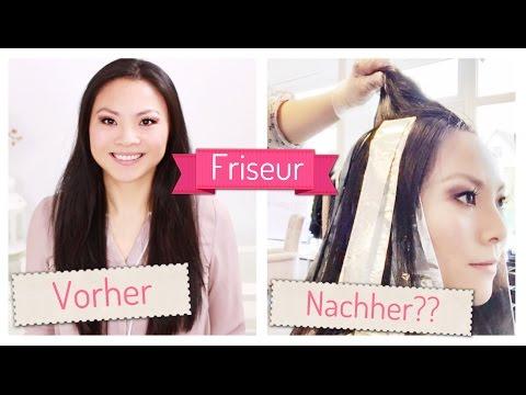 Friseurbesuch HAARE SCHNEIDEN + FÄRBEN vorher - nachher | Mamiseelen