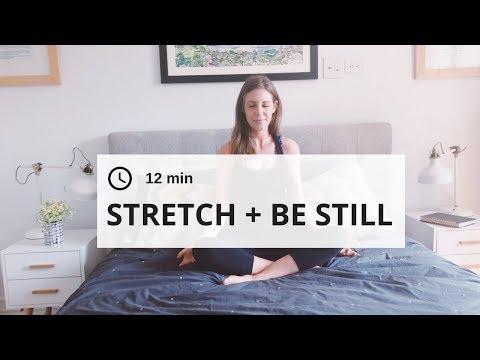 Stretch  Be Still: 12 Min Seated Yoga and Meditation