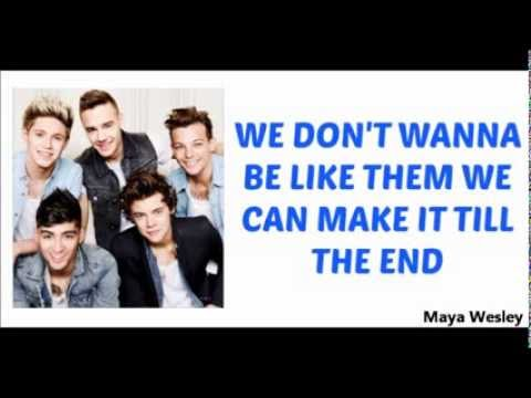 One Direction - You and I (Lyrics and Pictures) (Album ...