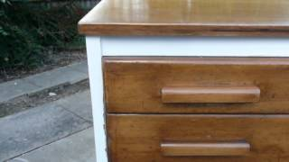 Plan Map Chest Of Drawers A0 Chart Architect Size Chic Painted Kitchen Island