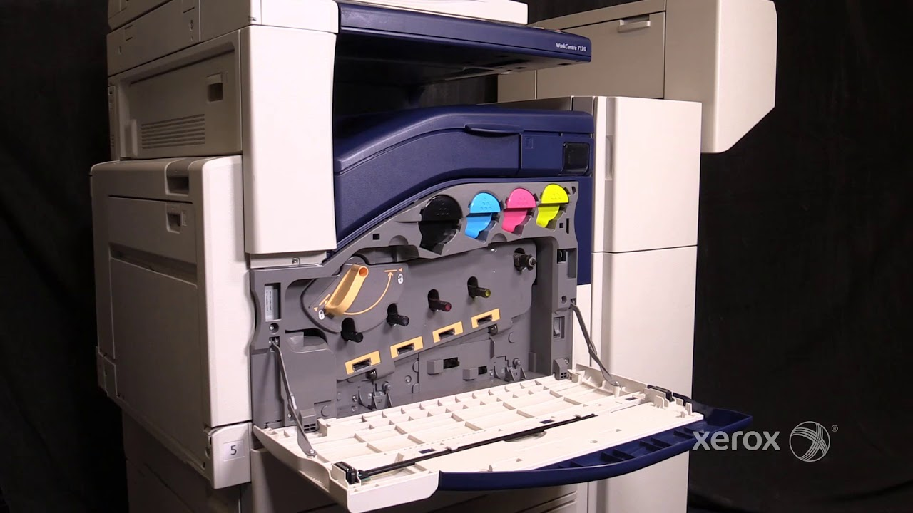 Xerox Workcentre 7120 7220 7225 Replacing The Waste Container
