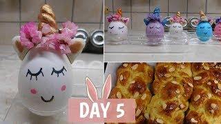 Βλογκοστή Day 5: Φτιάξαμε unicorn πασχαλινά αυγά & τσουρέκια | Marinelli