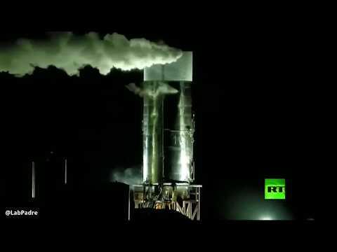 لحظة انفجار صاروخ -سبيس إكس- أثناء اختباره  - نشر قبل 3 ساعة