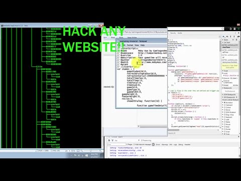 HOW TO HACK/MOD WEBSITES AND BROWSER-GAMES IN 2017!!!!