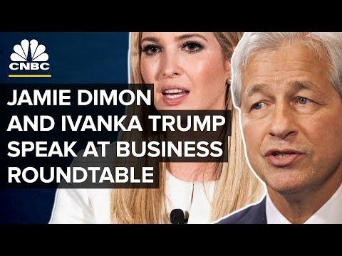 Ivanka Trump and Jamie Dimon speak at Business Roundtable summit — Thursday, Dec.6