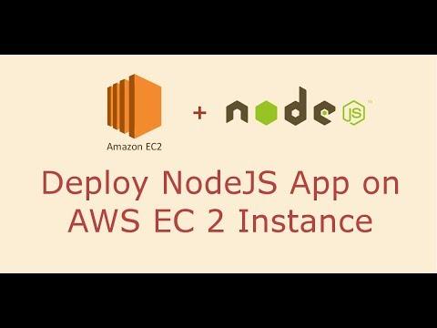 Deploy NodeJS APP on Amazon EC2 Instance