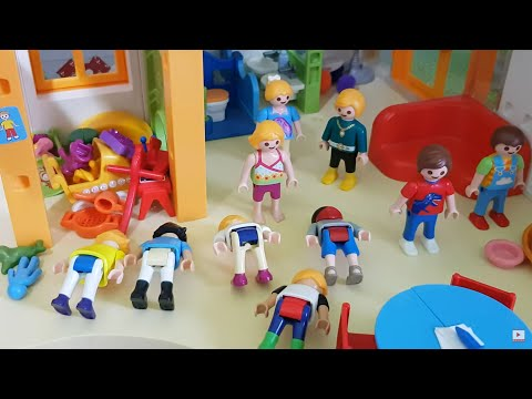 playmobil-film-deutsch🎬wer-hat-von-kindern👫👶neue-dedi-das-hose👖🎒an?familie-wurst🌭kinderweltfun