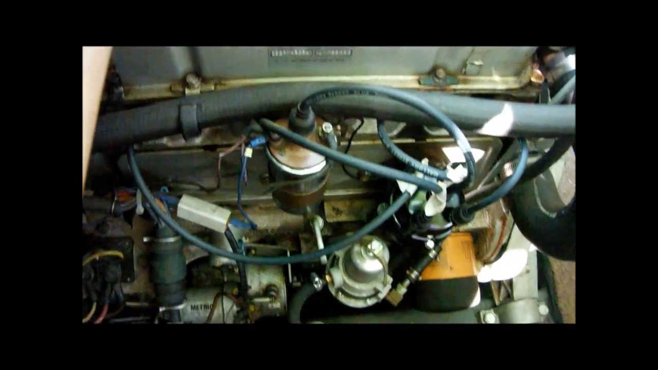 Omc 25 4 Cylinder Boat Engine Youtube 1979 Glastron Ignition Switch Wiring Diagram