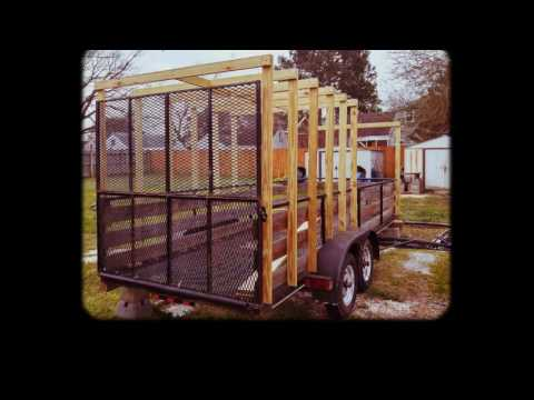 Enclosing my utility trailer...gel coat next