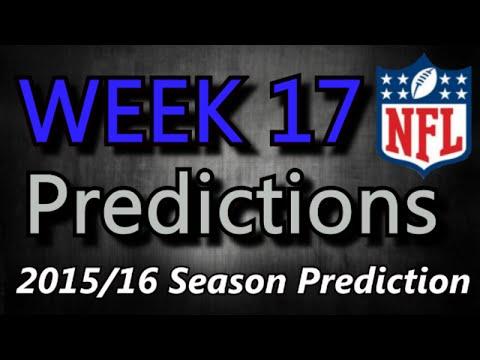 Week 17 - 2015 NFL Predictions