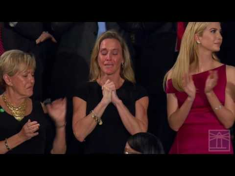 Carryn Owens, widow of William 'Ryan' Owens | President Trump addresses Congress