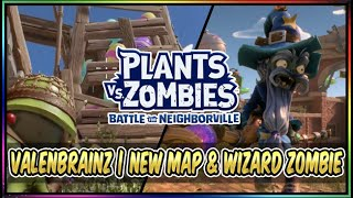 Wizard Zombie Character & New Turf Takeover Map News | Plants vs Zombies BFN Valenbrainz Festival