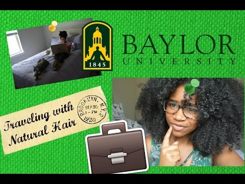 Traveling \with/ Natural Hair  - products/ regimen for the road :) | Curly Caycia