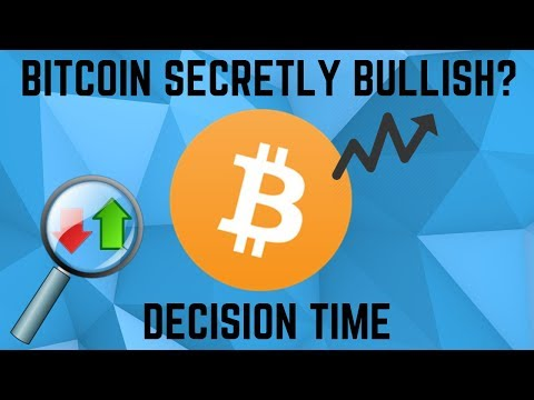 BITCOIN SECRETLY BULLISH?! Bitcoin Can Hit $9,000 If This Happens!