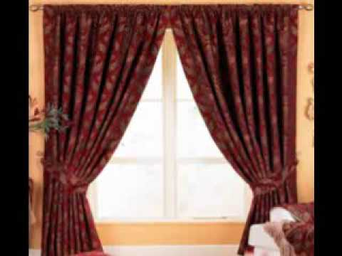 Curtain designs youtube for Household design curtain road