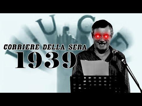 [extra] ALESSANDRO BARBERO legge il CORRIERE DELLA SERA del 1939