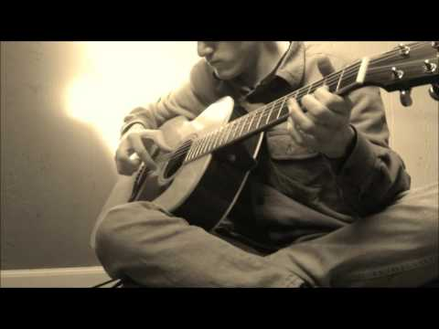 Enemy At The gates - Tania Theme On Acoustic Guitar - James Horner