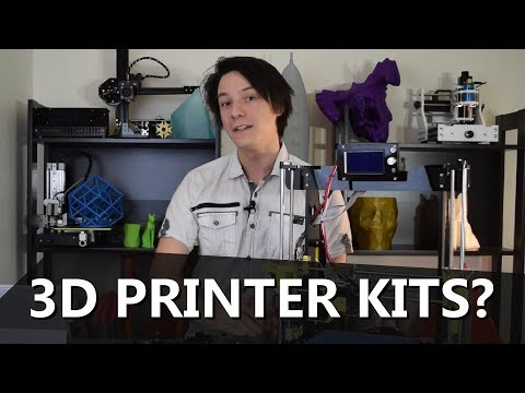 Should you buy a 3D Printer Kit? Watch this first.