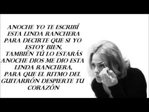 Annette Moreno - La Ranchera (LETRA)
