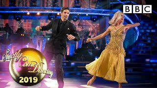 David and Nadiya Quickstep to From Now On - Week 4 | BBC Strictly 2019