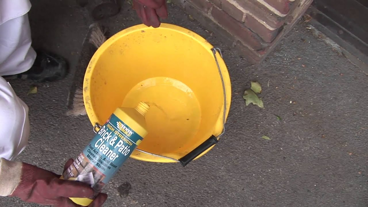 How To Remove Paint From Brick Youtube