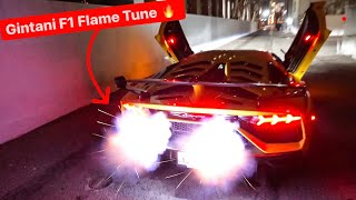 INTRODUCING MY LAMBORGHINI SVJ WITH GINTANI F1 EXHAUST / FLAME TUNE! * BEST SOUNDING CAR EVER*