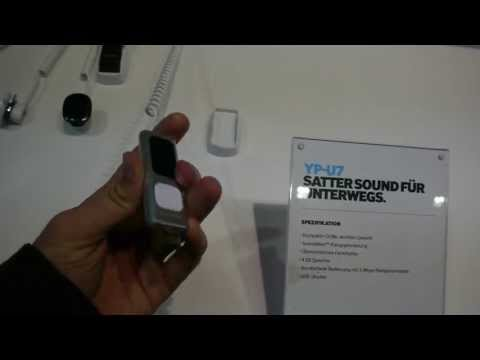 Samsung YP-U7 MP3 Player im Hands On [Deutsch]