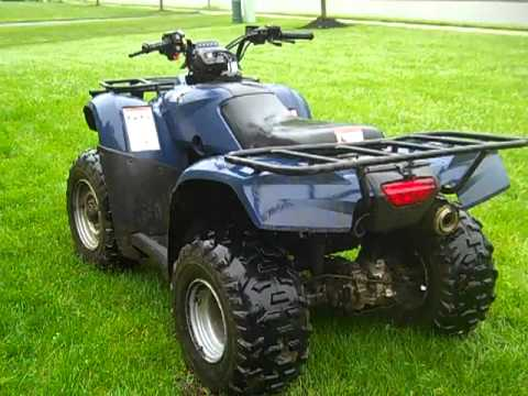 2006 Honda Recon 250 Walk Around For Sale Youtube