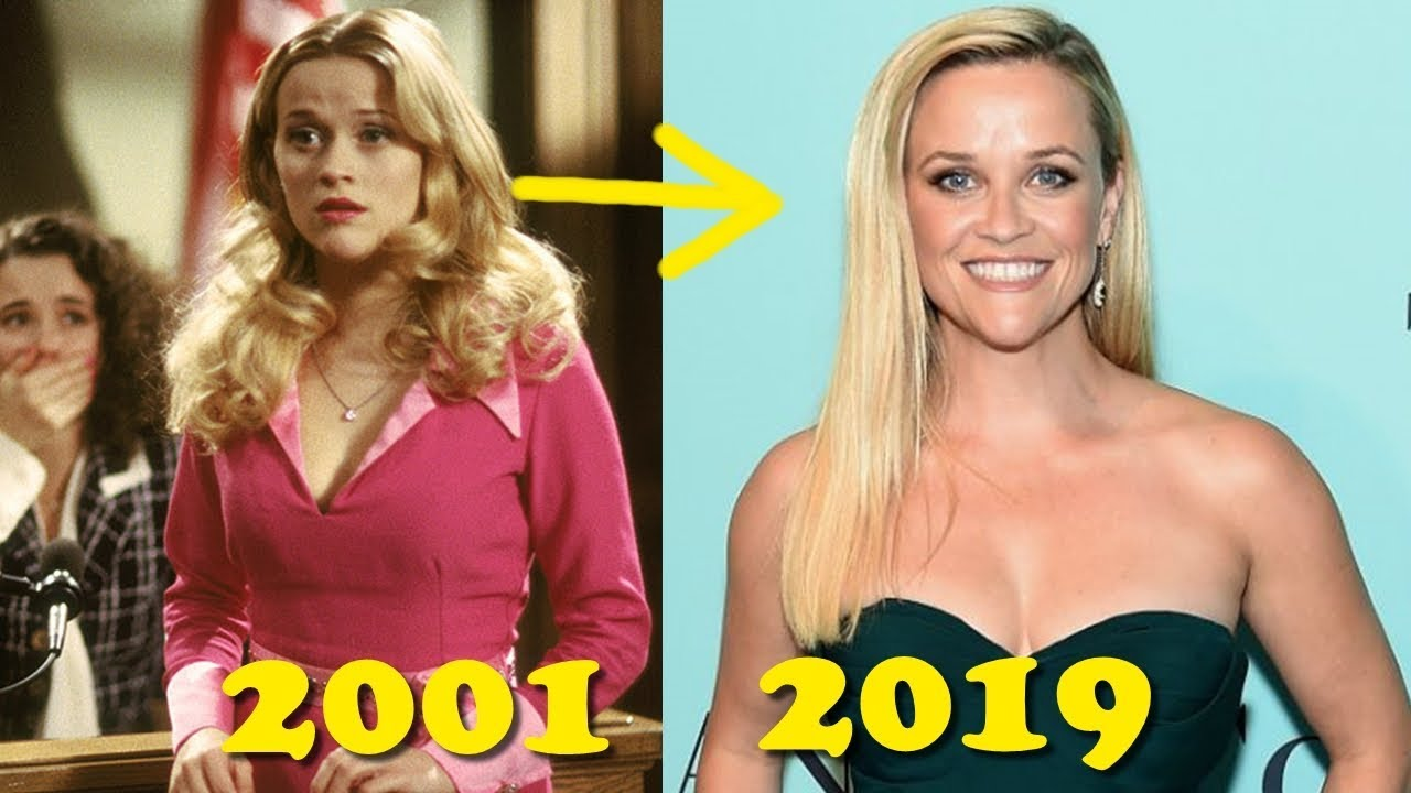 Legally Blonde 2001 Then And Now 2019