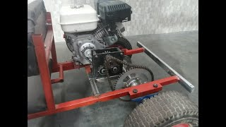 Reverse Gearbox Casero With Simple Materials