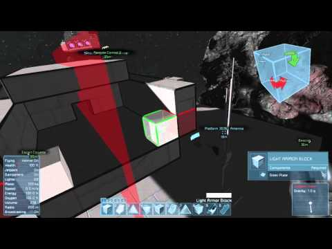 Space Engineers- Nuclearcatfish Shipyards-Torus Class Drone Ship