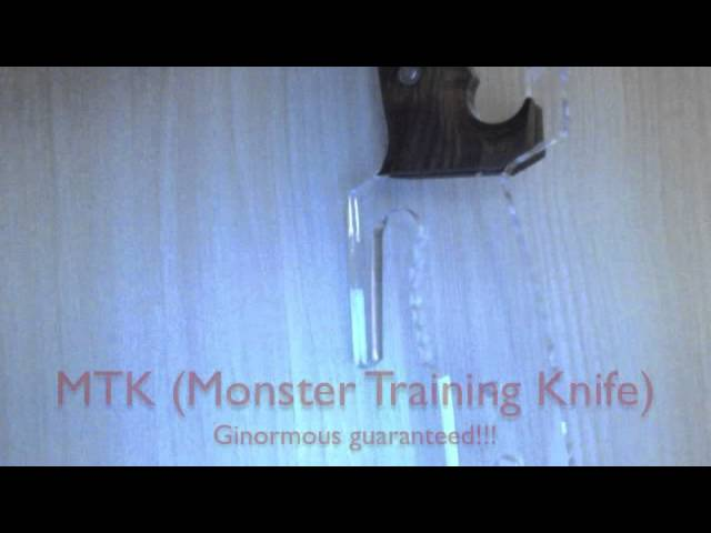 Space Pirate Monster Training Knife