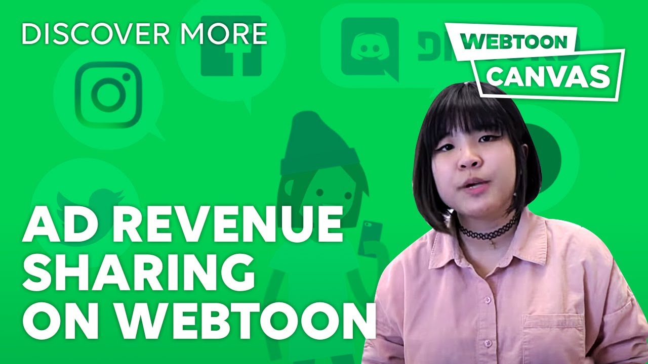 AD REVENUE SHARING ON WEBTOON • DiscoverMore