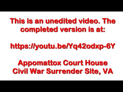 Appomattox Court House Outside - June 3, 2016 - Travels With Phil