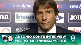 SAMPDORIA 1-3 INTER | ANTONIO CONTE INTERVIEW: