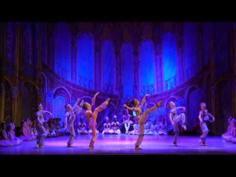 """Детский балет """"Щелкунчик"""". Восточный танец"""